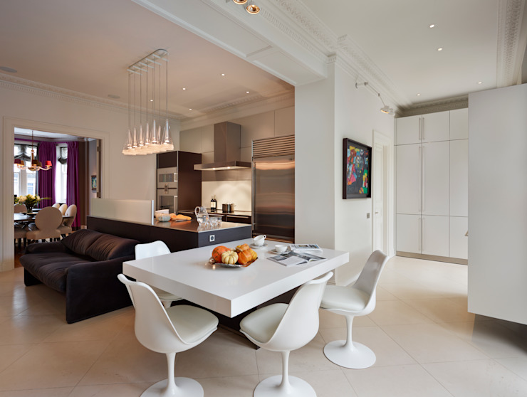 City living at its best Modern kitchen by homify Modern
