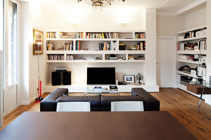 Modern Living Room by marta novarini architetto Modern