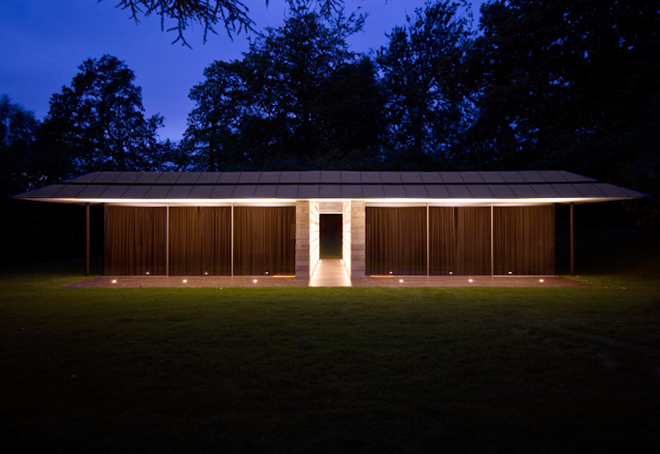 Capel Manor House, Kent Modern houses by Ewan Cameron Architects Modern