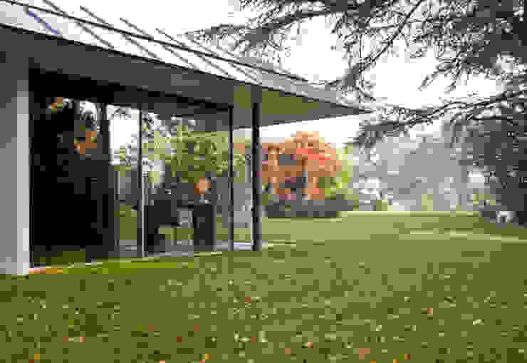 Capel Manor House, Kent Ewan Cameron Architects Modern Bahçe