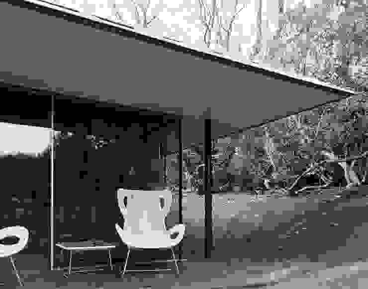 Capel Manor House, Kent Ewan Cameron Architects Modern Balkon, Veranda & Teras