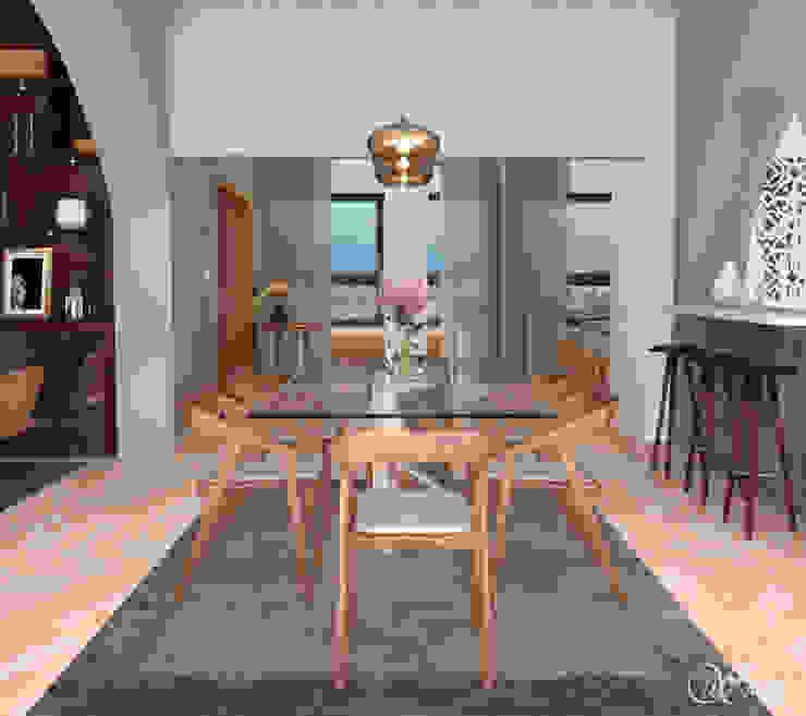 Dining Area by Inside Studio Ltd
