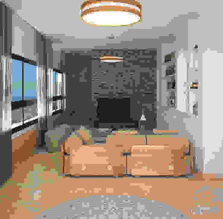 TV Room Living room by Inside Studio Ltd
