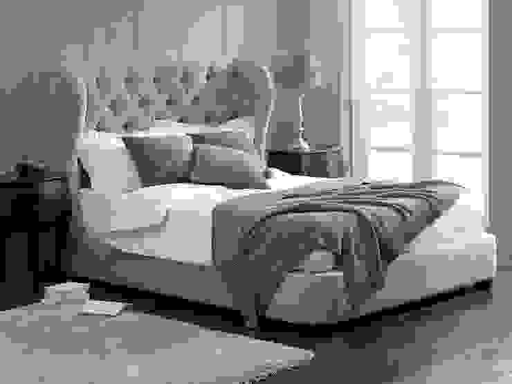 Cadence Low Footboard Bed de Living It Up Moderno