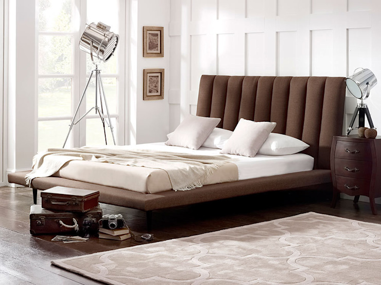 Leighton Bed od homify Nowoczesny