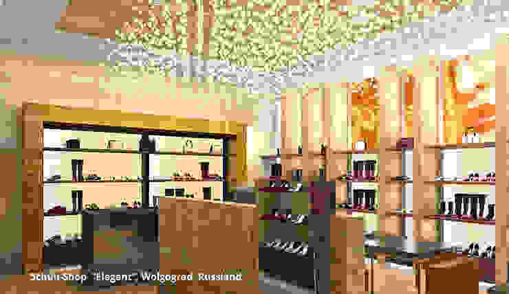 """Elegant-Shop - Bereich 1: hochwertige """"Designer-Ware"""" Moderne Ladenflächen von GID│GOLDMANN-INTERIOR-DESIGN - Innenarchitekt in Sehnde Modern"""
