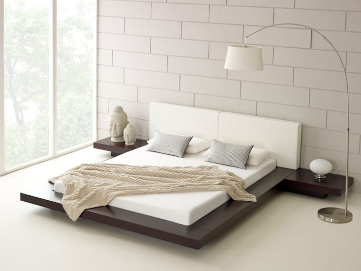 Harmonia Walnut Bed de Living It Up Moderno