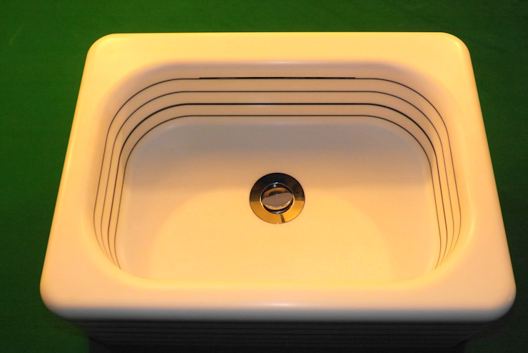 horizontal pinstripe hand basin: classic  by srb enginering 2000 ltd, Classic
