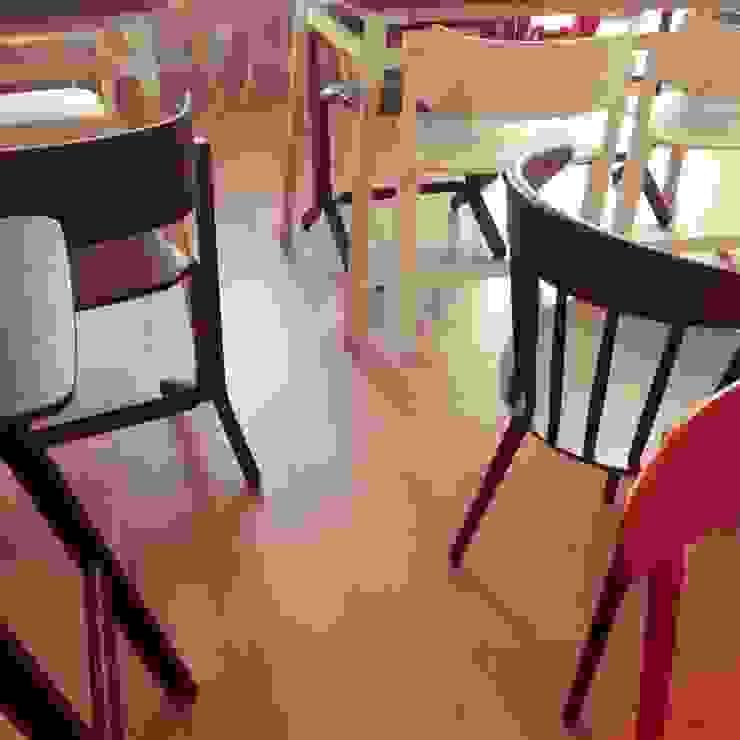 HEJ Coffee Academy Scandinavian style commercial spaces by MCMM Architettura Scandinavian