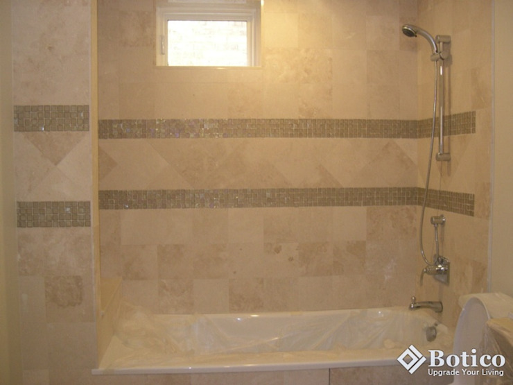 Complete Bathroom Remodel in Sheffield Colonial style bathroom by Botico Colonial