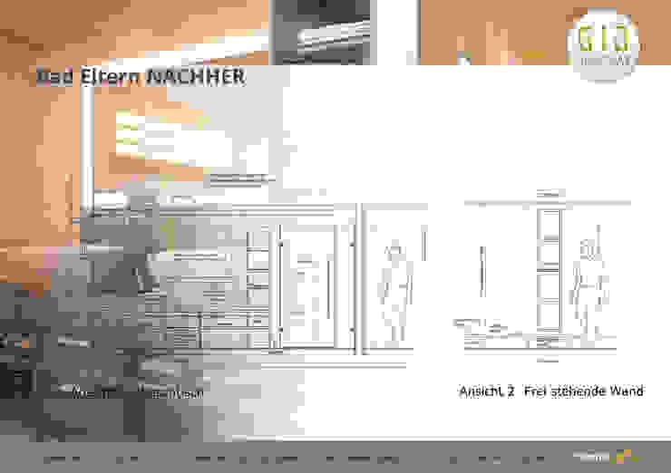 Nachher Moderne Badezimmer von GID│GOLDMANN-INTERIOR-DESIGN - Innenarchitekt in Sehnde Modern