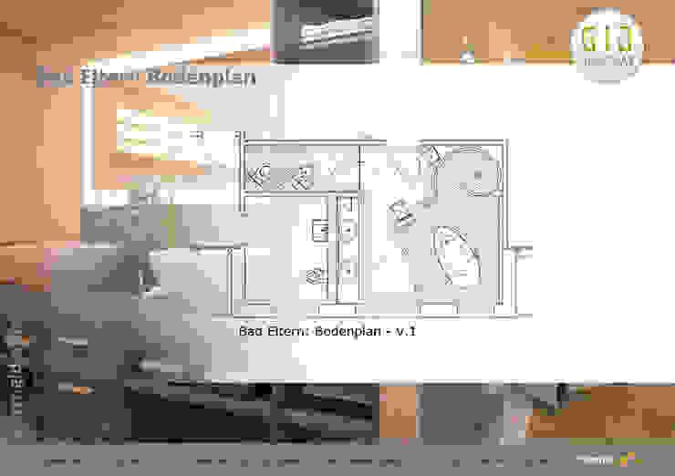 Nachher:  Badezimmer von GID│GOLDMANN-INTERIOR-DESIGN - Innenarchitekt in Sehnde,