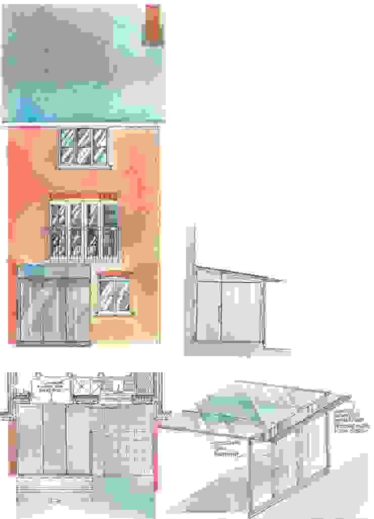 Conservatories and winter gardens Casas de estilo ecléctico de 4D Studio Architects and Interior Designers Ecléctico