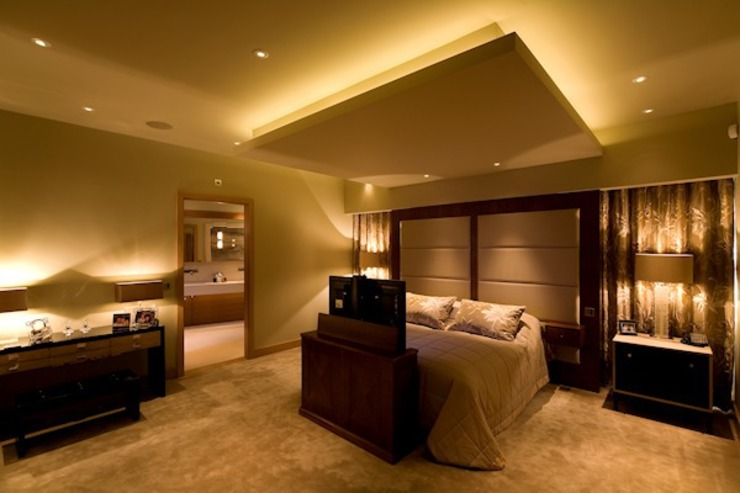 The Master Bedroom Modern style bedroom by Brilliant Lighting Modern