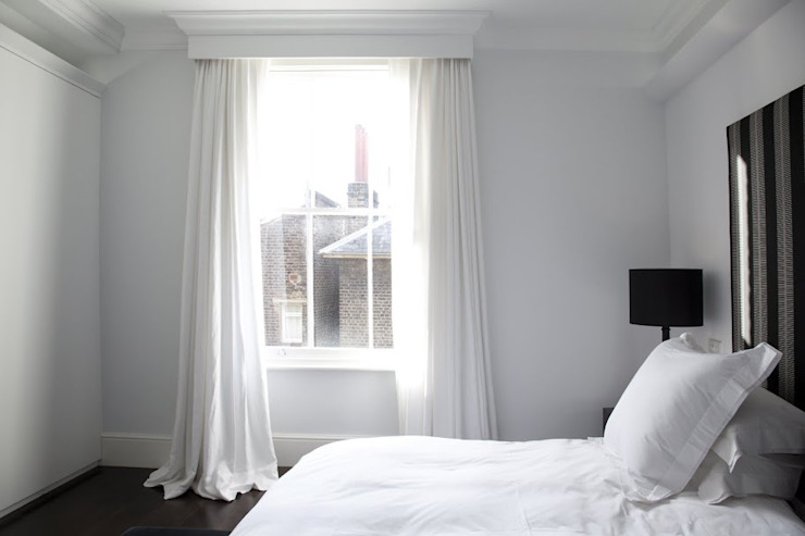 Historic House, Notting Hill, London 4D Studio Architects and Interior Designers Classic style bedroom