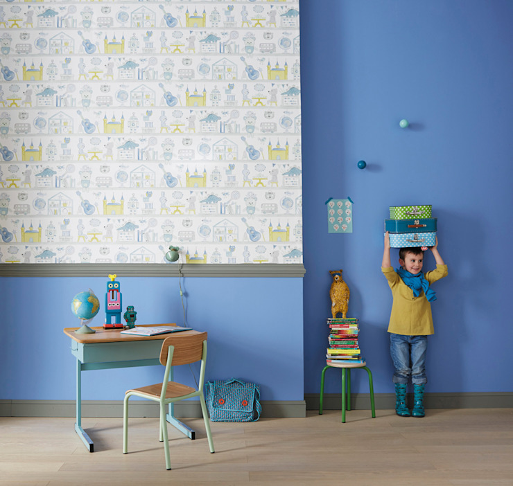 Eclectic style nursery/kids room by kinder räume ag Eclectic
