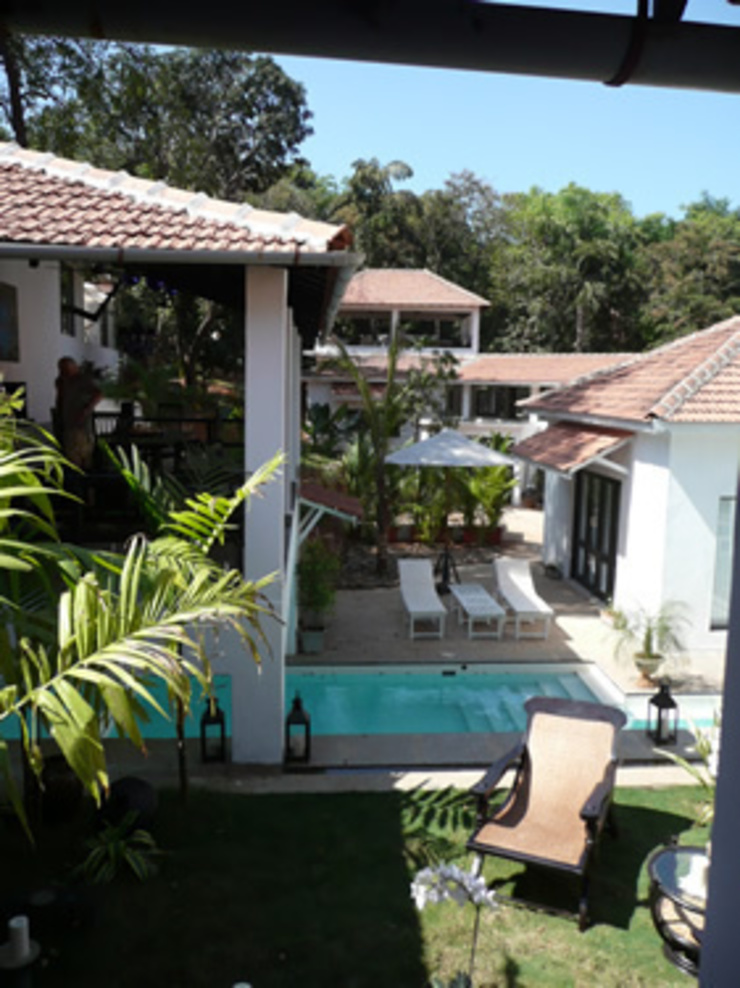 Two Houses in Goa Eclectic style pool by 4D Studio Architects and Interior Designers Eclectic
