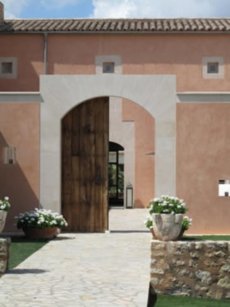 Son Fornes, Majorca Mediterranean style houses by 4D Studio Architects and Interior Designers Mediterranean