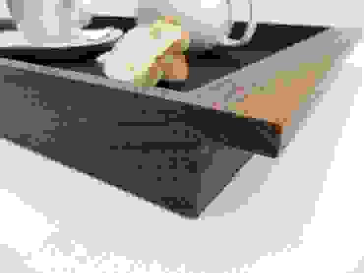 Tablett Nussbaum groß: modern  von Schreinerei Roland Löffler,Modern