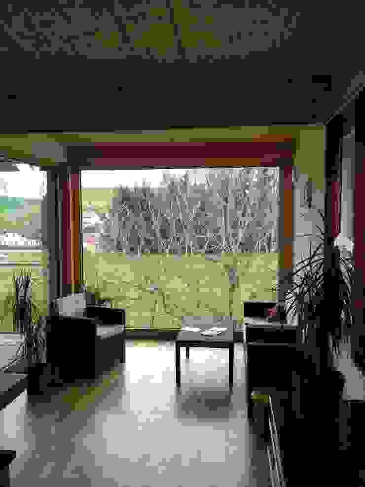 Austria House - Interior Living room by Amorphous Design Ltd