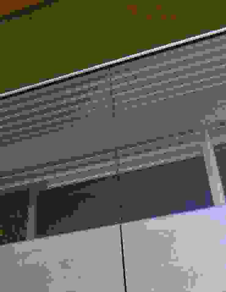 Austria House - Exterior Balcony Modern balcony, veranda & terrace by Amorphous Design Ltd Modern