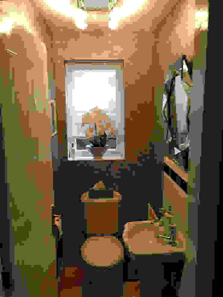 Cloakroom makeover 에클레틱 욕실 by Karolina Barnes Studio 에클레틱 (Eclectic)