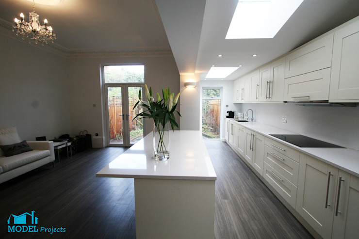 Open Plan Living Classic style kitchen by Model Projects Ltd Classic