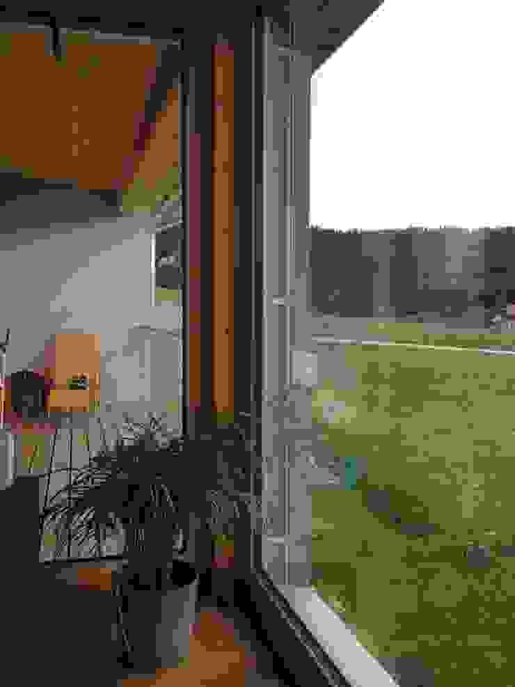 Austria House - Interior Modern living room by Amorphous Design Ltd Modern