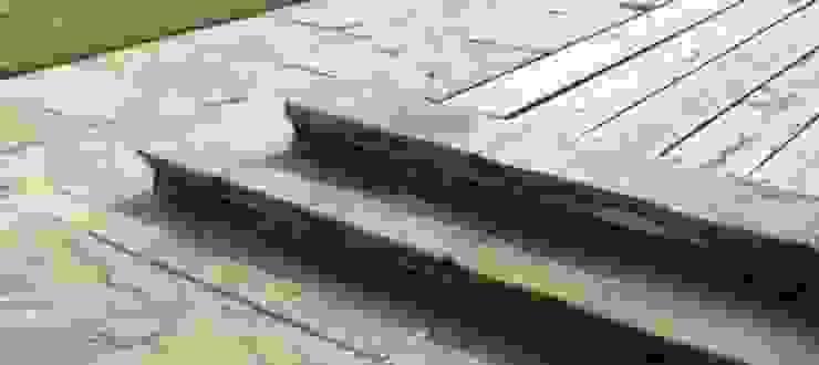 Decking Steps Modern garden by Bestall & Co Landscape Design Ltd Modern
