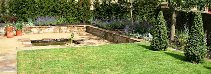 Rural Garden Modern garden by Bestall & Co Landscape Design Ltd Modern