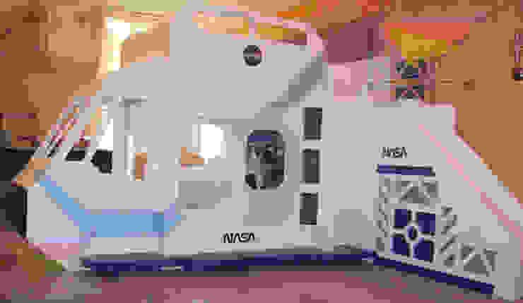 Litera nave de la NASA:  de estilo  por camas y literas infantiles kids world, Moderno
