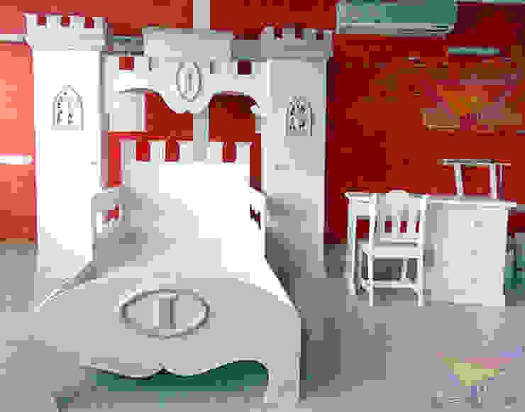 Recamara clásica estilo princesas de camas y literas infantiles kids world Clásico