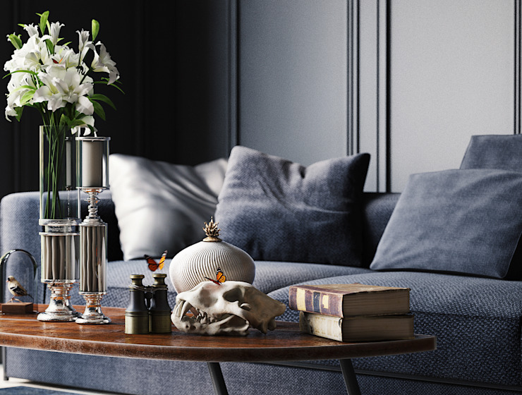 Sofa SCENE WHITE ROOM DESIGN Klasik