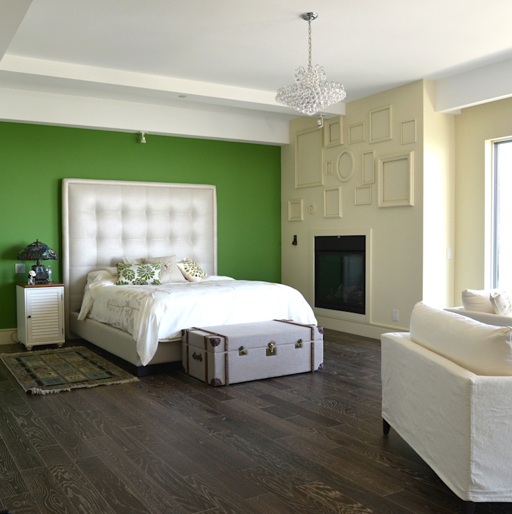 Nightingale Decor, Hollywood Hills CA. 2014 Dormitorios modernos de Erika Winters® Design Moderno