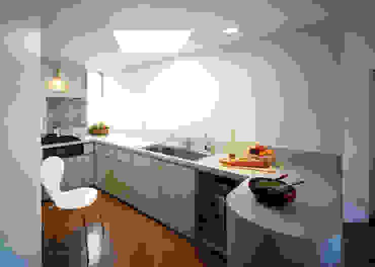 ダイゴナルの家 モダンデザインの 多目的室 の T設計室一級建築士事務所/tsekkei モダン