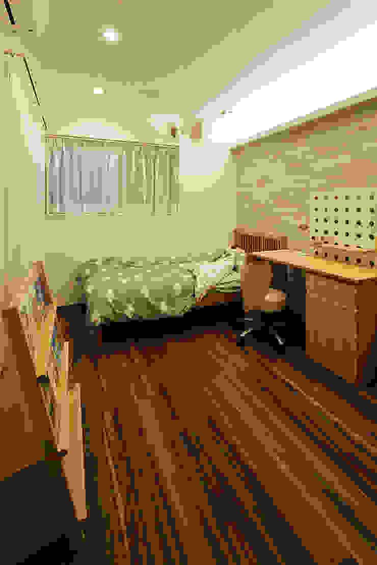 もっとのいえ オリジナルデザインの 子供部屋 の 有限会社タクト設計事務所 オリジナル