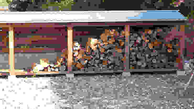 薪ストーブ小屋 オリジナルな 庭 の T設計室一級建築士事務所/tsekkei オリジナル