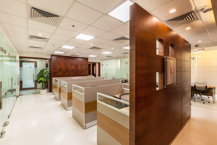 Marvel Office by Kumar Moorthy & Associates