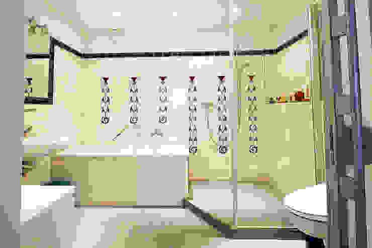 Modernes Bad mit historischen Fliesen Ausgefallene Badezimmer von Wohnwert Innenarchitektur Ausgefallen