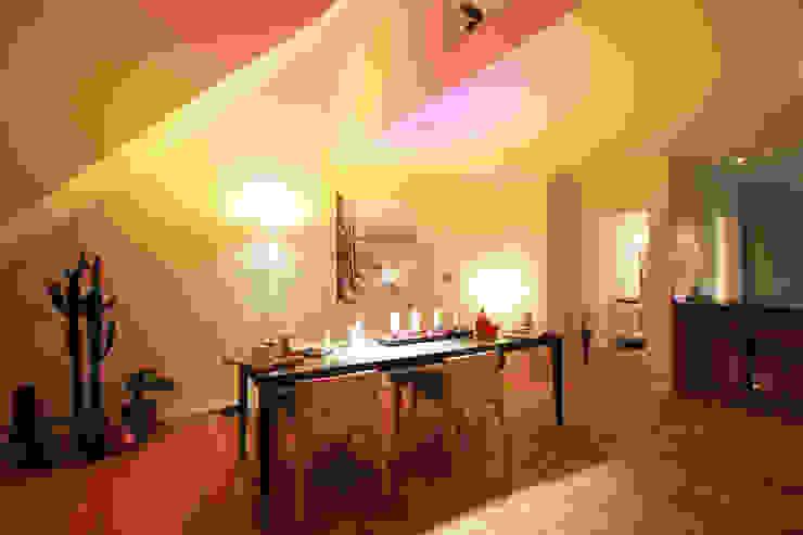 Gemütlich, eleganter Wohn-/ Essbereich Moderne Esszimmer von Wohnwert Innenarchitektur Modern
