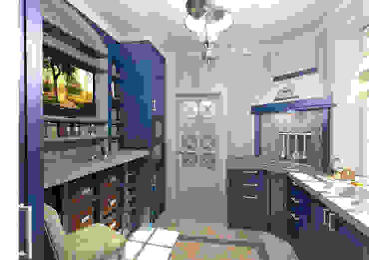 Кубанский прованс Студия Маликова Кухня в рустикальном стиле