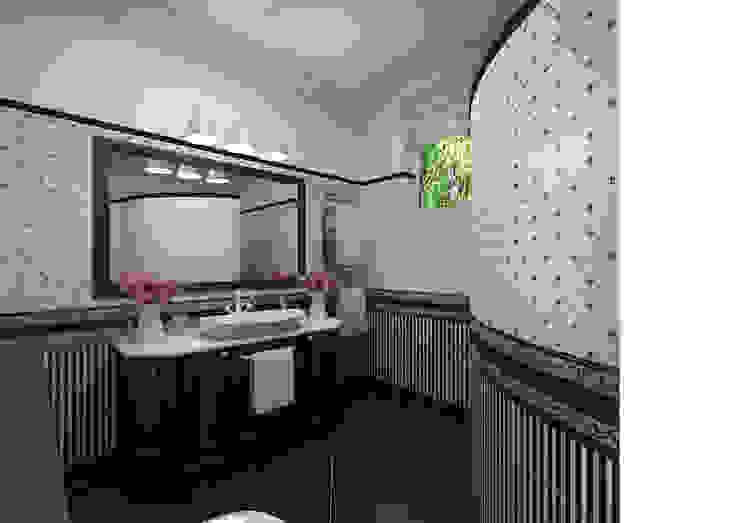 Кубанский прованс Студия Маликова Ванная комната в стиле кантри