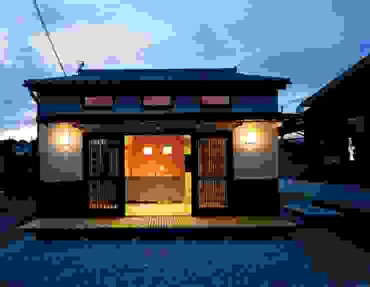 外観夜景 オリジナルな 家 の 株式会社 遊墨設計 オリジナル