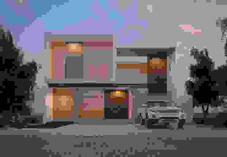SIMPLICIDAD Y DISTINCION Casas modernas de SYD CONSTRUCTORES Moderno