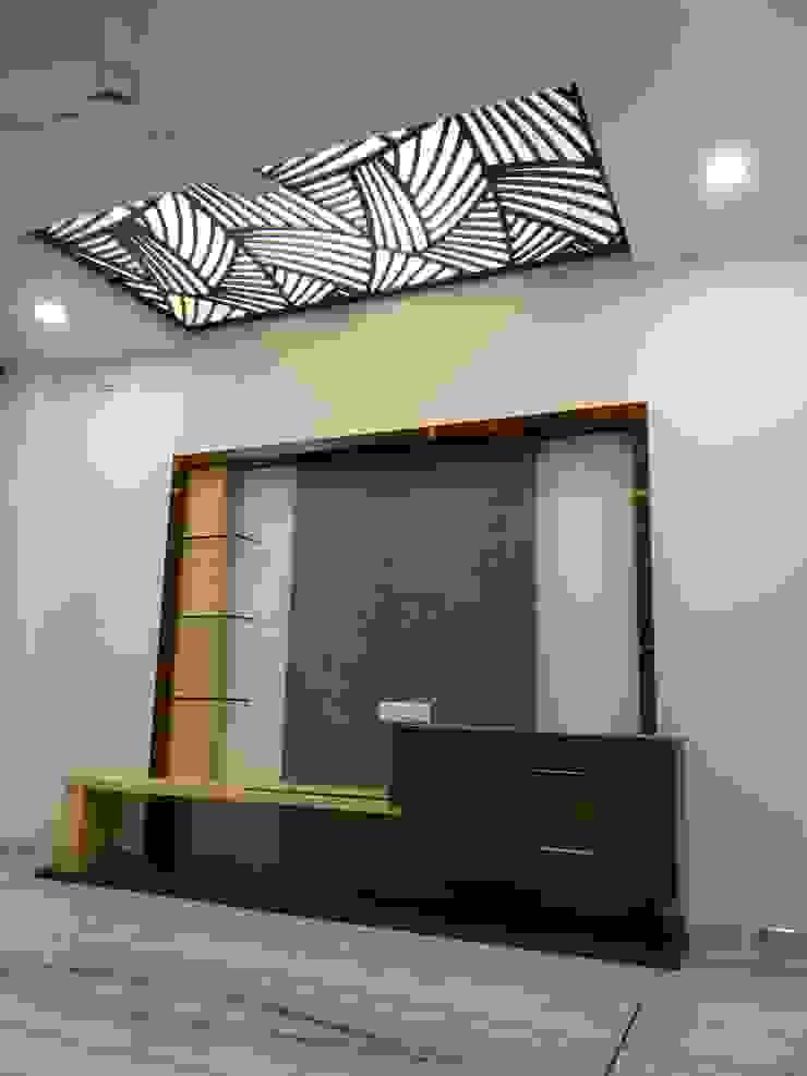 Livng room TV unit: modern  by Hasta architects,Modern