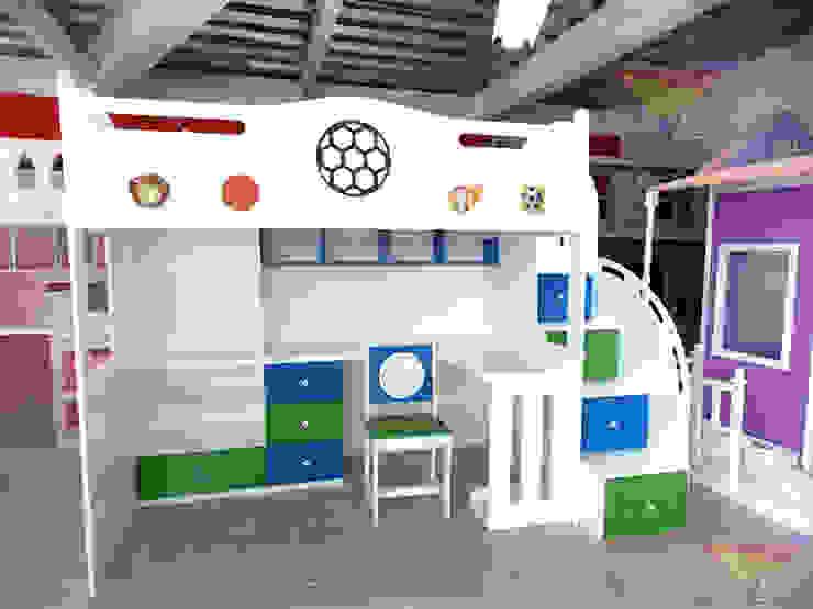 Cama alta de balones de camas y literas infantiles kids world Minimalista