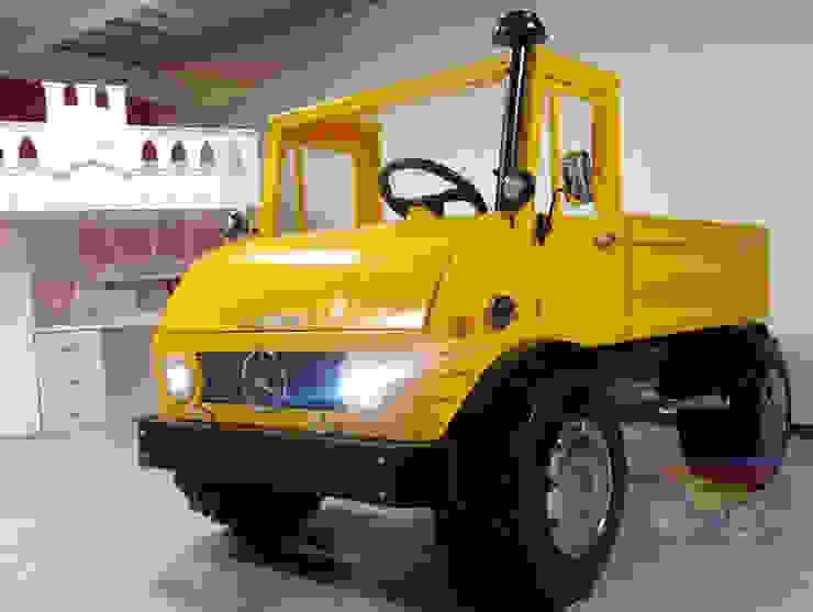 Impactante cama tractor de Kids Wolrd- Recamaras Literas y Muebles para niños Moderno