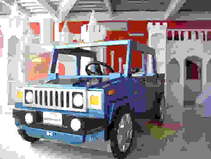 Cama para niño tipo Hummer de Kids Wolrd- Recamaras Literas y Muebles para niños Moderno