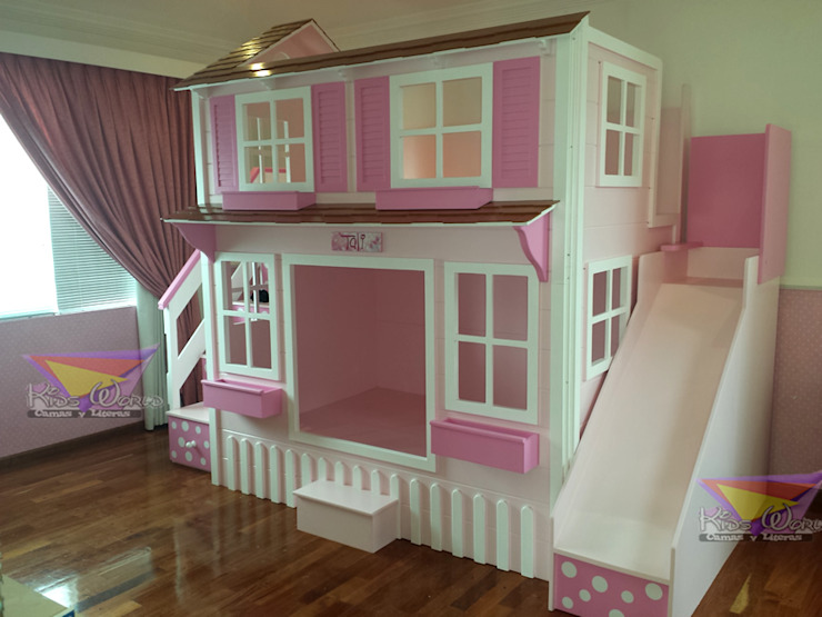 Divina casita de Lunares de camas y literas infantiles kids world Clásico