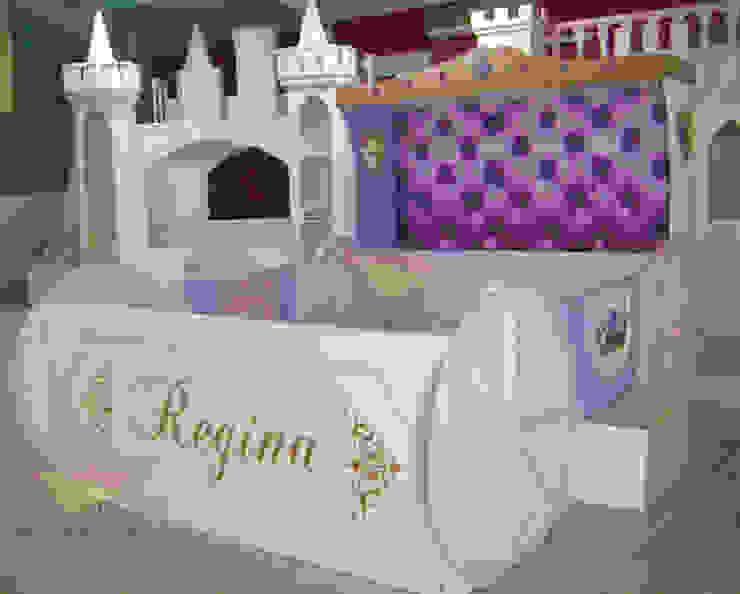 Cama para niñas Carroza de camas y literas infantiles kids world Clásico